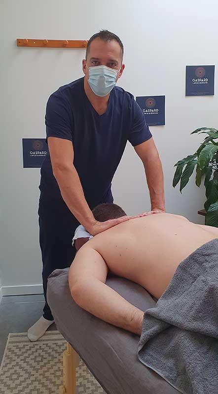 Massage sur Nantes pour homme et femme bien-être