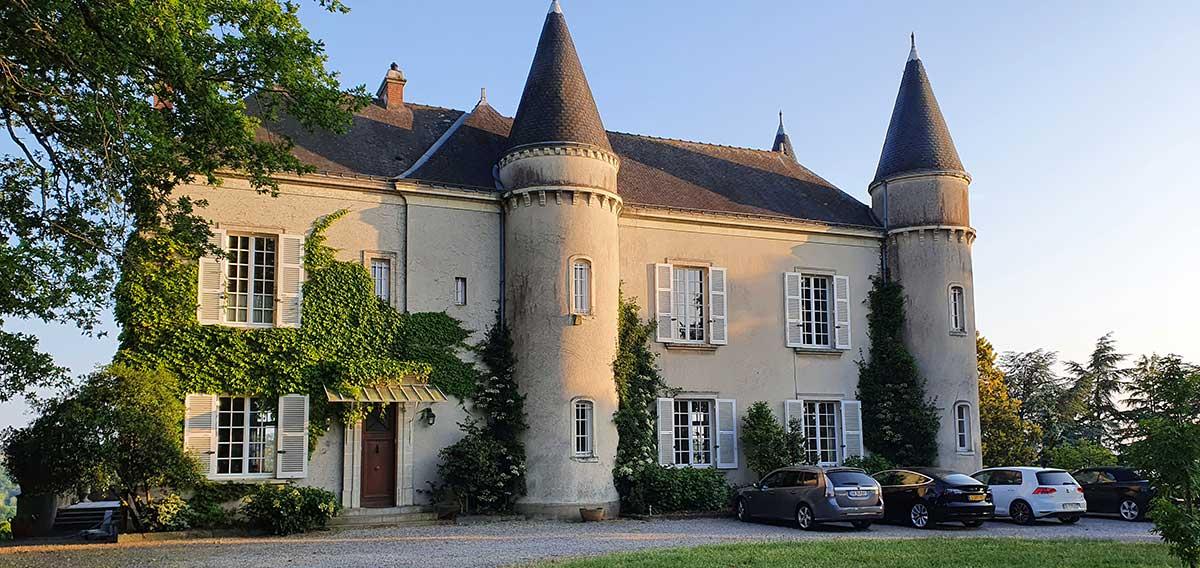 Chateau haute roche partenaire Gaspars Massages