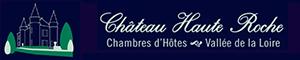 logo chateau haute roche partenaire Gaspars Massages